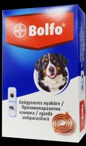 Bolfo kullancs és bolhairtó nyakörv nagytestű kutyák részére